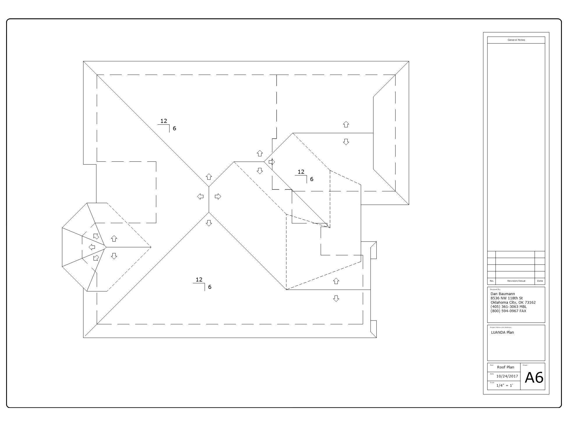 Luanda Plan Roof Pitch