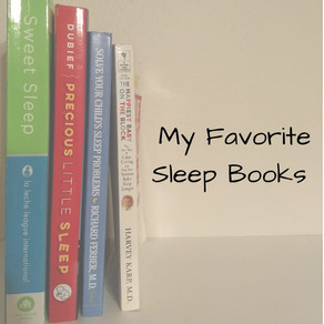 My Favorite Sleep Books
