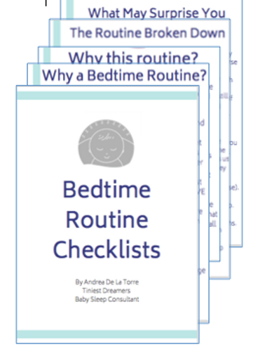 Bedtime Routine Checklists - Formal Font