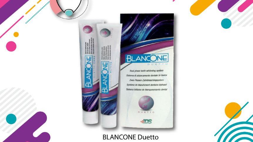 Blancone Duetto Sistema Di Sbiancamento Dentale Bi-Fasico Dentifricio Sbiancante