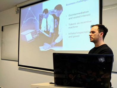 Blockchain Course at SRH University of Applied Sciences, Berlin