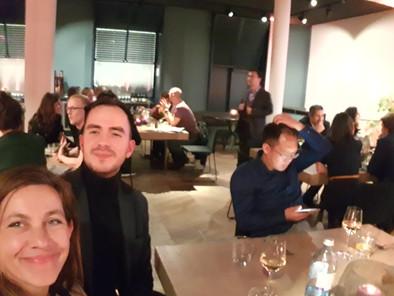 SAP blockchain enterprise dinner, Berlin