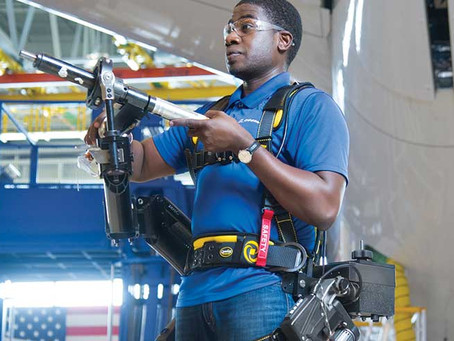 Using Exoskeleton Wearable Technology to Improve Worker Health and Safety