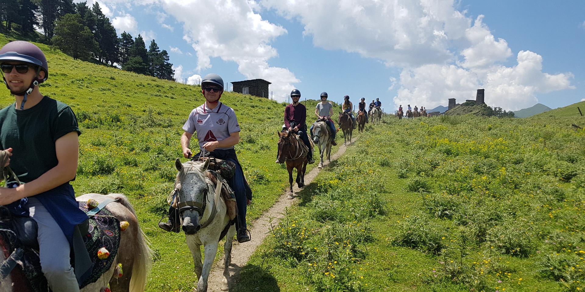 Horse Riding in Tusheti National Park