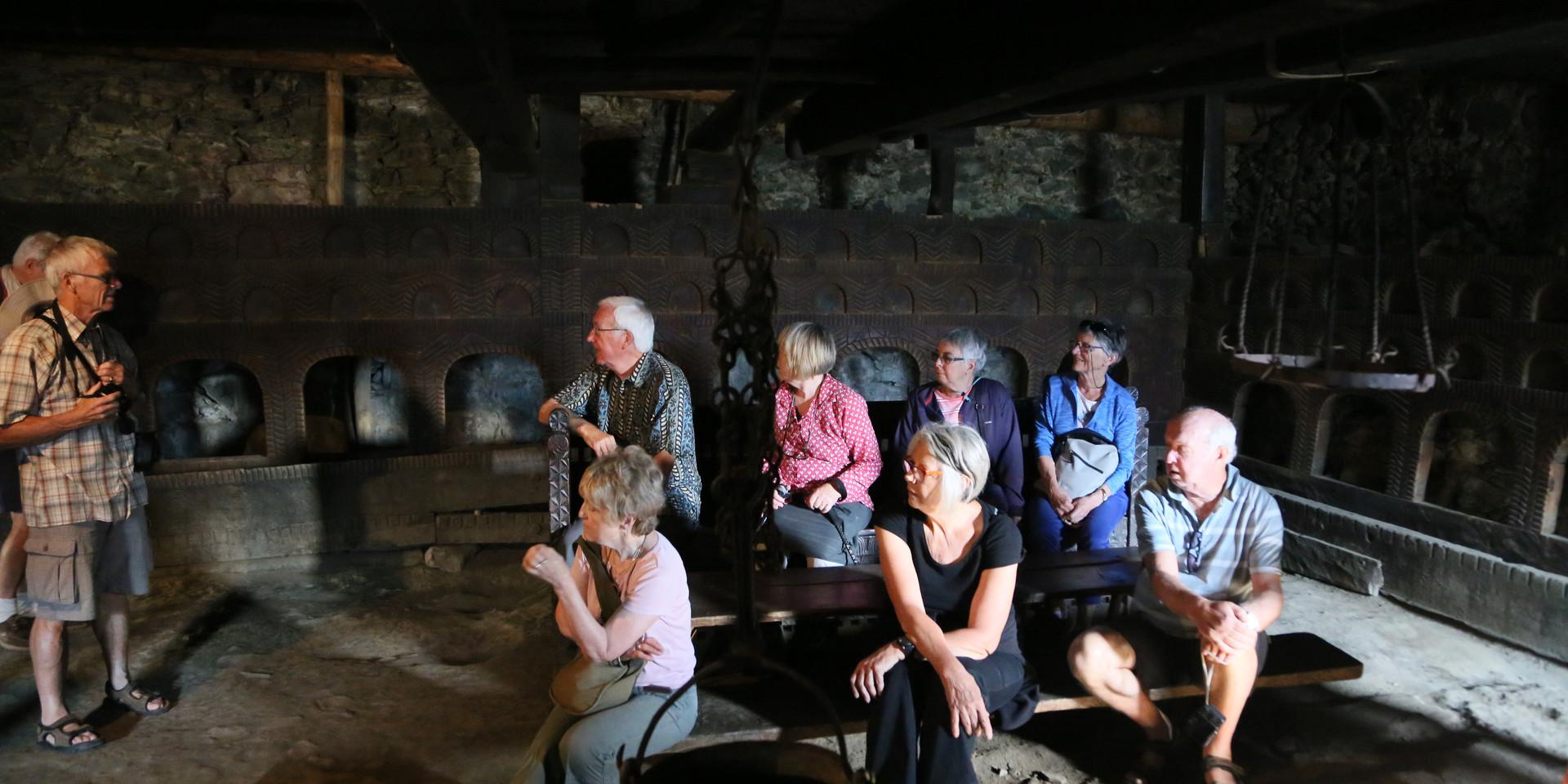 Medieval Svanetian dwelling, Mestia