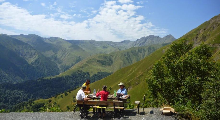 Lunch at 2700 meters, Tusheti National Park