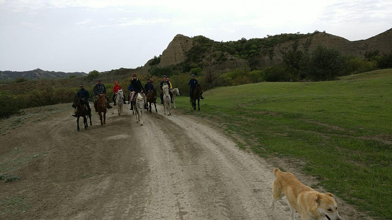 Horse Riding in Vashlovani National park