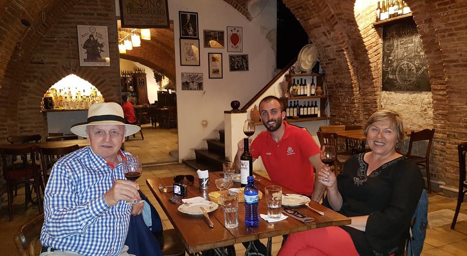 Wine tasting in Tbilisi