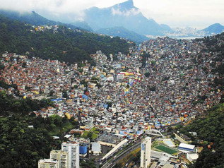 What is a favela?