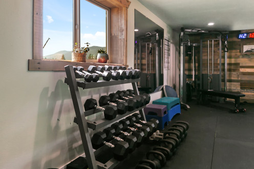 We have a variety of DBs & KBs for every fitness level!