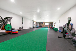 We like having SPACE to train and move our bodies!
