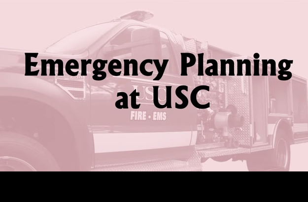Emergency Planning at USC