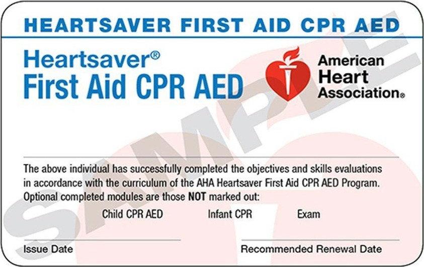 First Aid, CPR & AED/ Choking