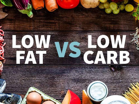 Low Fat vs Low Carb:  Which one wins?