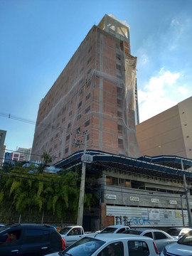 Hotel feito com Argamassa uBeton