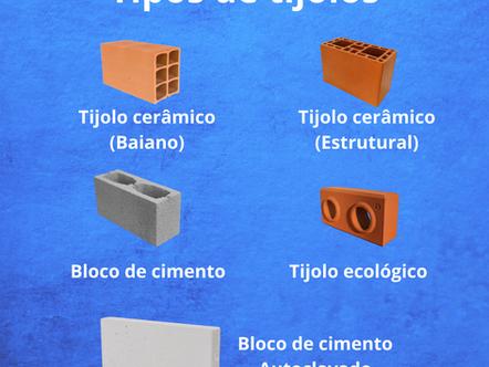Qual o tijolo ideal para sua obra?