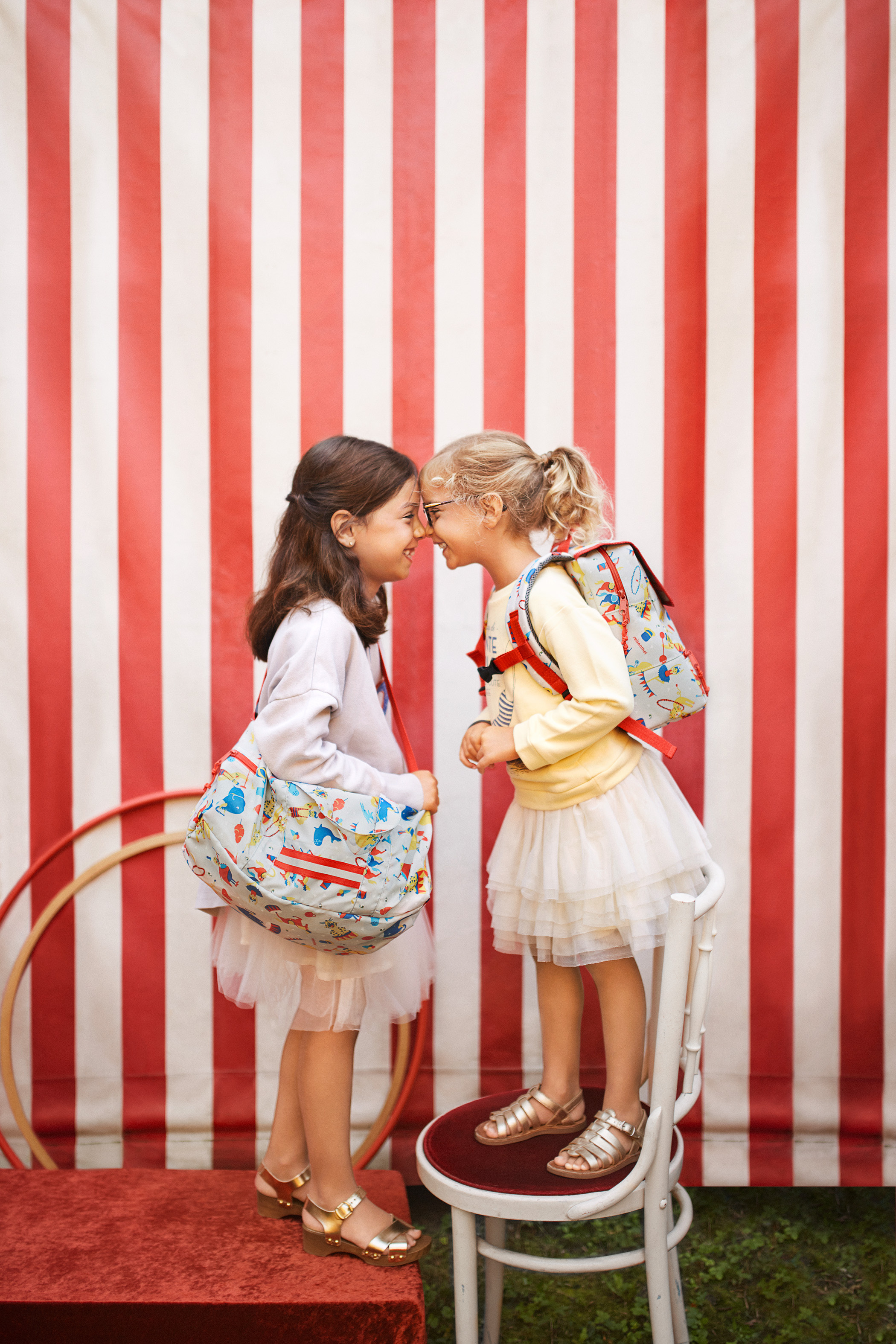 Mini Maxi Dufflebag S Kids Circus