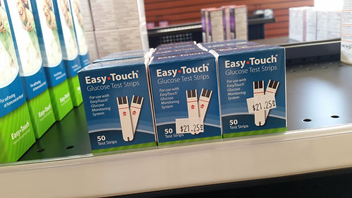 Easy Touch Test Strips