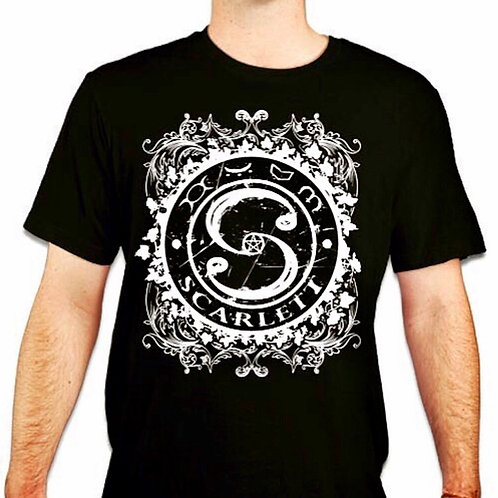 SCARLETT Black T-Shirt Men