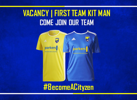 Kit Man Wanted