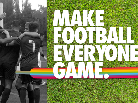 Showing our support for Rainbow Laces