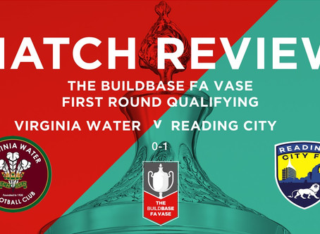Butcher's strike sees City progress in FA Vase