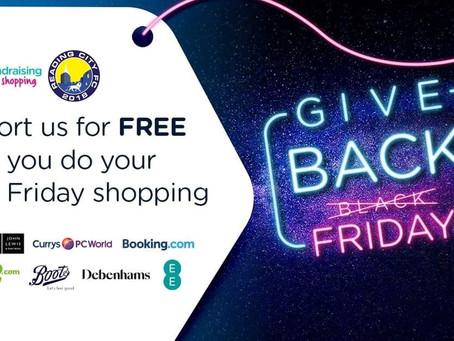 Make Black Friday shopping easy with easyfundraising