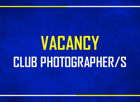 Vacancy | Club Photographers