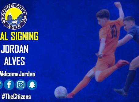 Jordan Alves re-joins the Citizens