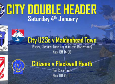 First City Double Header of 2020