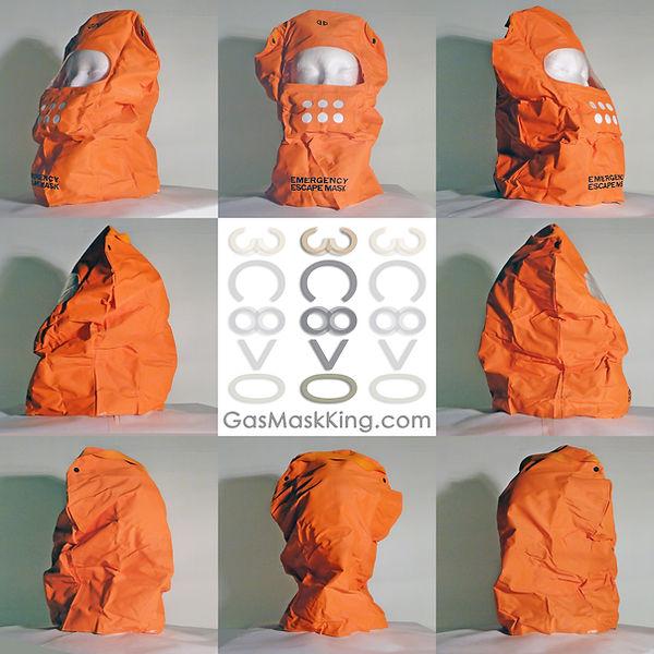 Extra Margin Emergency Escape Mask