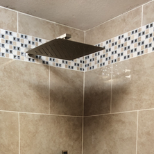 Custom accessible showers