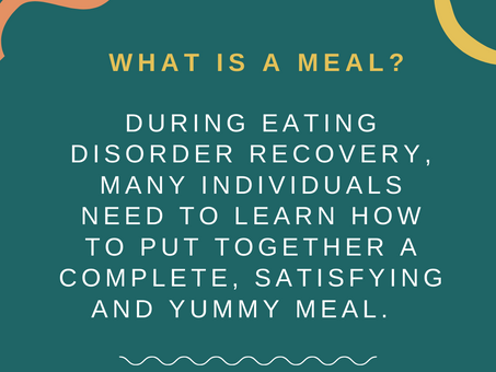 What is a Meal?
