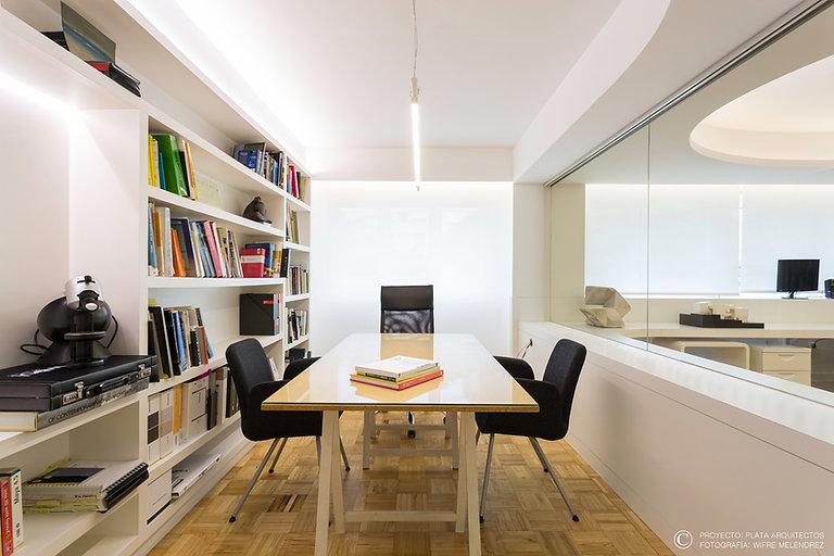 Vista despacho Plata Arquitectos