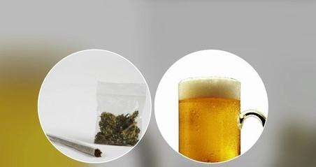 O uso solitário de álcool e maconha por adolescentes