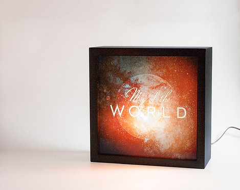 """Map Of The """"World"""" (12 x 12)"""