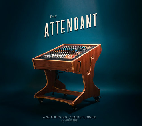 The ATTENDANT - 12U Mixing desk sidecar