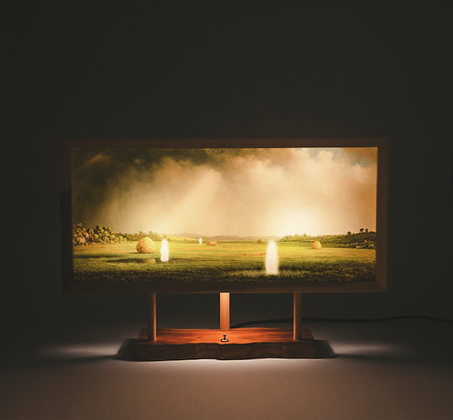 Ghost Landscape - Downlit Canarywood/Poplar