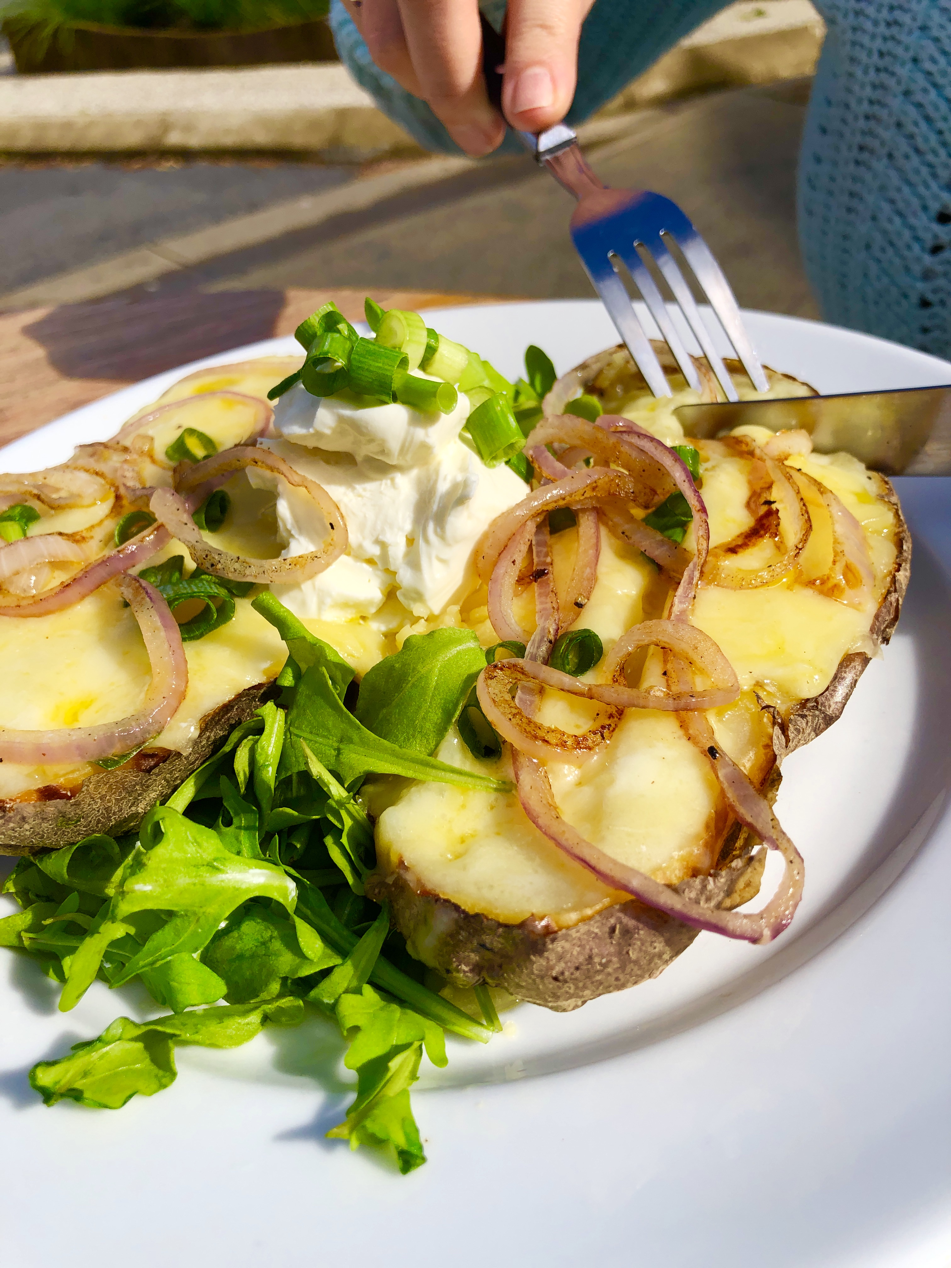 Slow Baked Spuds
