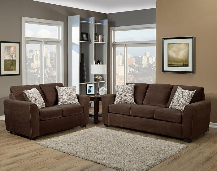Najia II Fabric Sofa Set