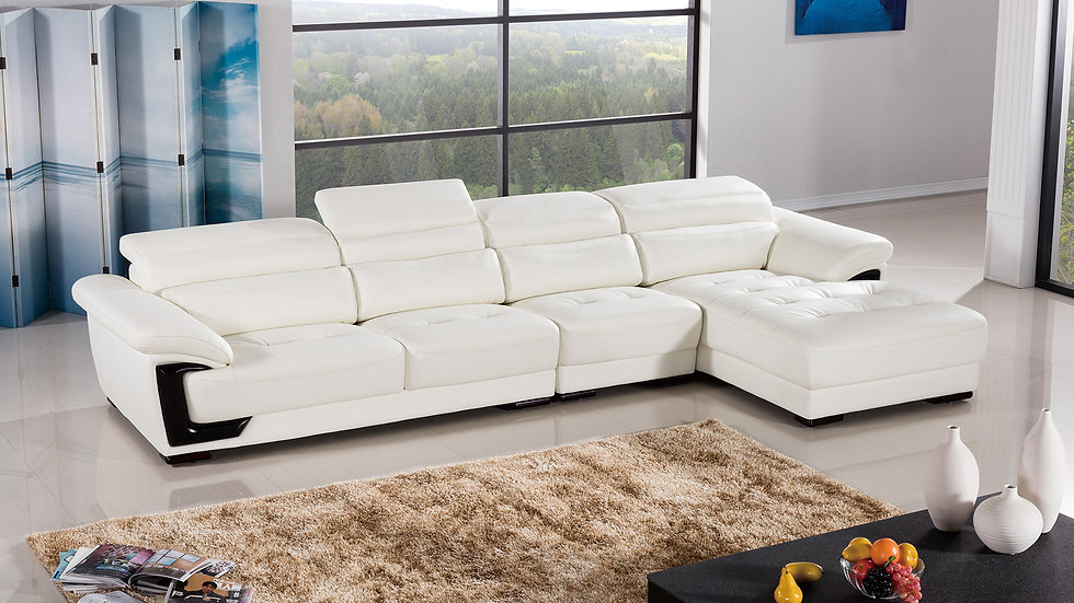 Riena Amore Leather Sectional