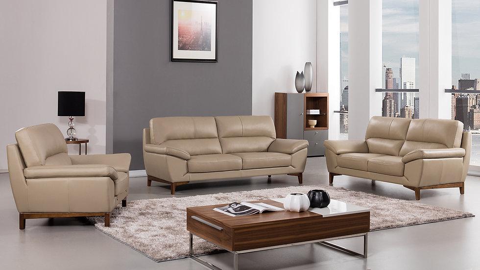 Gilden Genuine Italian Leather Sofa Set