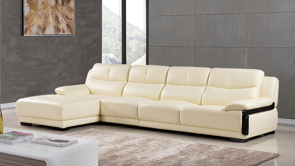 Monte Claro Leather Sectional