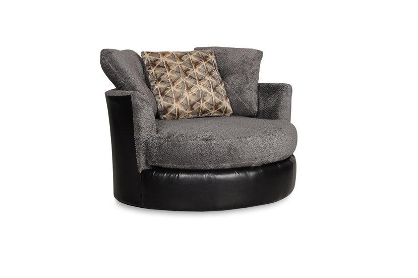 Sagia Smoke Swivel Chair
