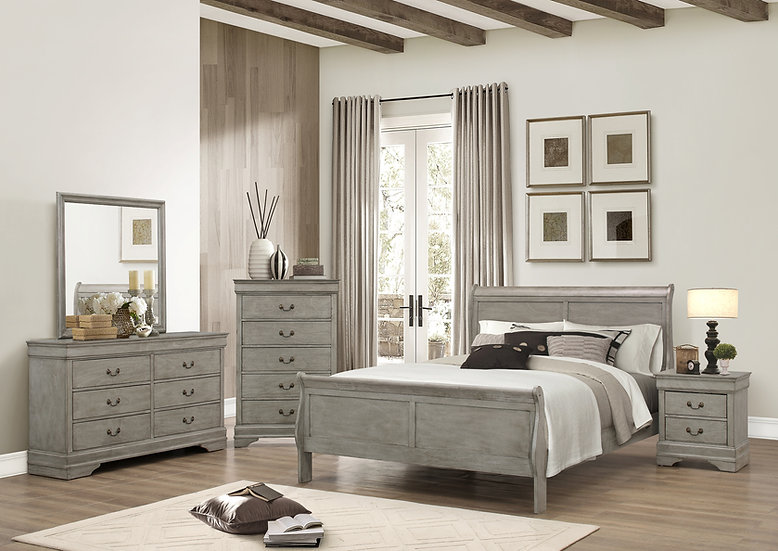 Carlisle III King Bedroom Set