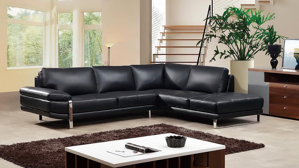 Strada I Leather Sectional