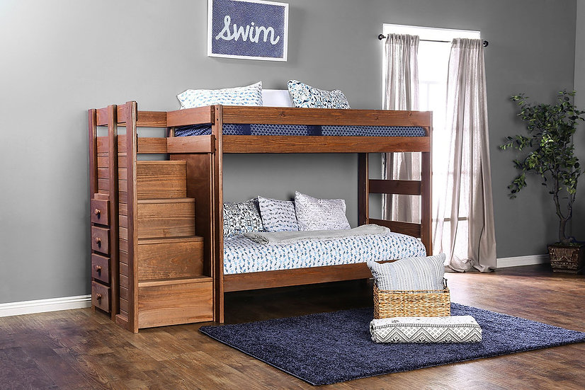 Timber Falls Solid Wood Bunk Bed