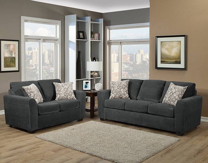 Najia III Fabric Sofa Set