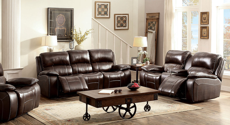 Julie Brown Sofa Set