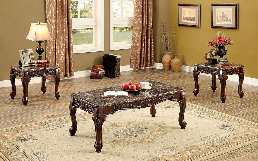 Rochester Brown Table Set